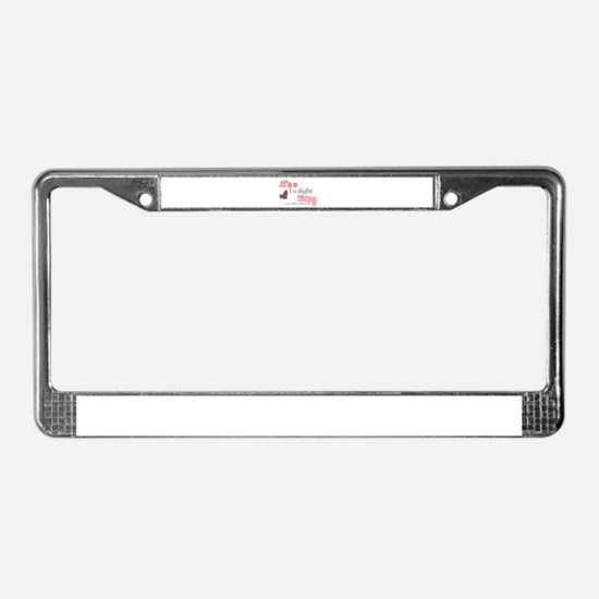 It's a Twilight Thing License Plate Frame