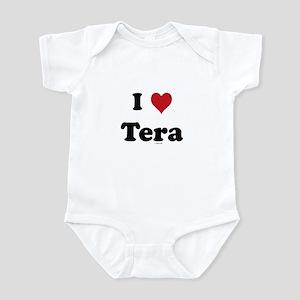 I love Tera Infant Bodysuit