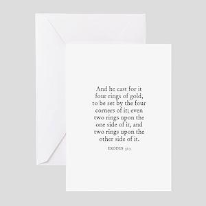 EXODUS  37:3 Greeting Cards (Pk of 10)