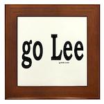 go Lee Framed Tile