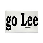 go Lee Rectangle Magnet (100 pack)