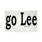 go Lee Rectangle Magnet (10 pack)