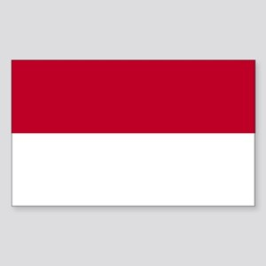Indonesia Rectangle Sticker