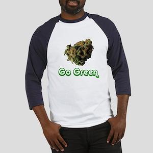 'Go Green' Baseball T-Shirt (More colors)