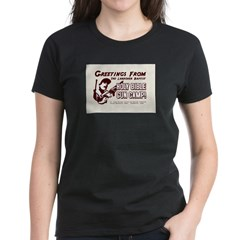 Bible Gun Camp Women's Dark T-Shirt