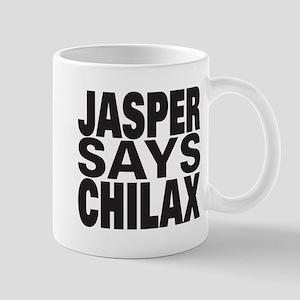 Jasper Says Chilax Mug
