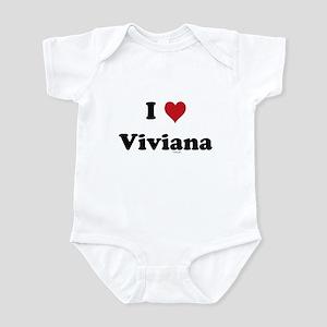 I love Viviana Infant Bodysuit