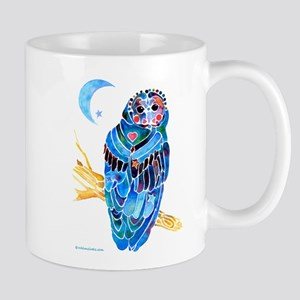 Whimsical Owl Mug