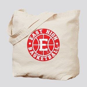 East High Basketball Tote Bag