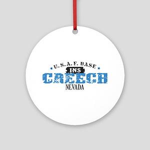 Creech Air Force Base Ornament (Round)