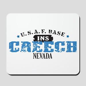 Creech Air Force Base Mousepad