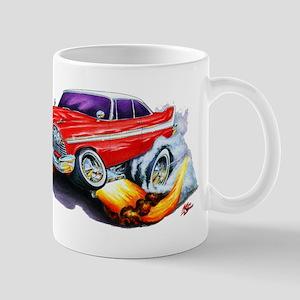 1958-59 Fury Red Car Mug