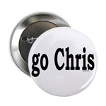 "go Chris 2.25"" Button (100 pack)"