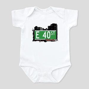 E 40 STREET, MANHATTAN, NYC Infant Bodysuit