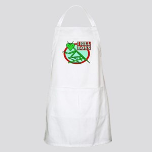 I KILL BOYS BBQ Apron