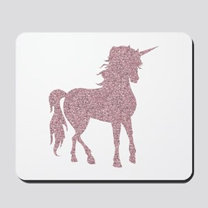 Pink Unicorn Mousepad