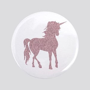 Pink Unicorn Button