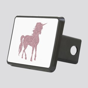 Pink Unicorn Rectangular Hitch Cover