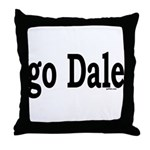 go Dale Throw Pillow