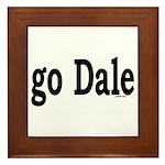 go Dale Framed Tile