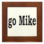 go Mike Framed Tile
