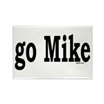go Mike Rectangle Magnet (10 pack)