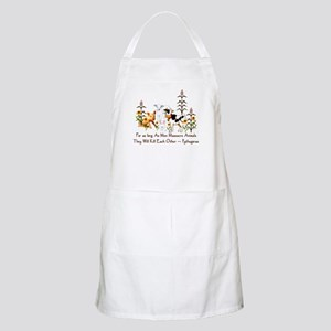 Pythagoras Vegetarian Quote Apron