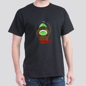 Sock Monkey Occupations Dark T-Shirt