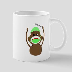 Sock Monkey Occupations Mug