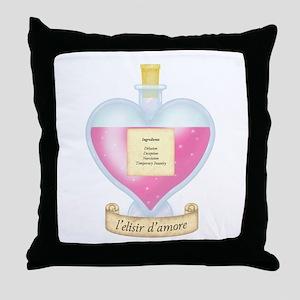 Delusional Love Potion Throw Pillow