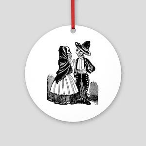 Amorosos en Dialogo Ornament (Round)