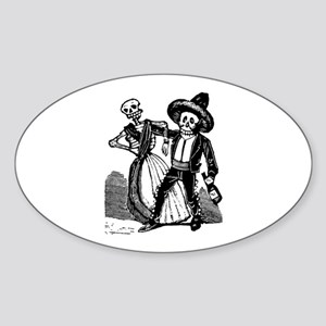 Charrito Celoso Oval Sticker