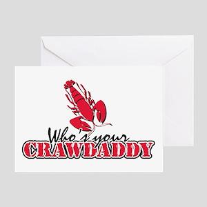 Who's ur Crawdaddy Greeting Card