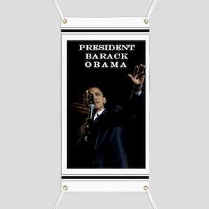 PRESIDENT BARACK OBAMA Banner