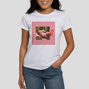 Women's T-Shirt - Flamingos