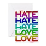 Hate2Love Greeting Cards (Pk of 10)