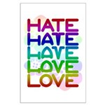 Hate2Love Large Poster