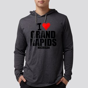 I Love Grand Rapids, Michigan Long Sleeve T-Shirt