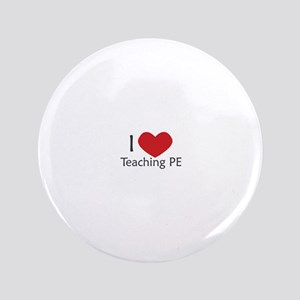 "I heart Phys ed 3.5"" Button"