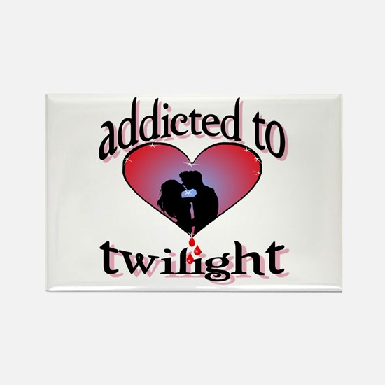 Addicted to twilight /BR Rectangle Magnet