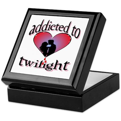 Addicted to twilight /BR Keepsake Box