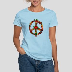 Veggie Peace Sign Women's Light T-Shirt