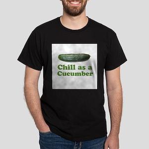 Chill as a Cucumber Dark T-Shirt