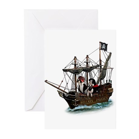 Biscuit Pirates Greeting Cards (Pk of 20)