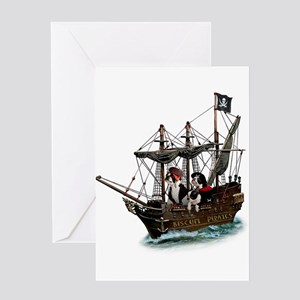 Biscuit Pirates Greeting Card