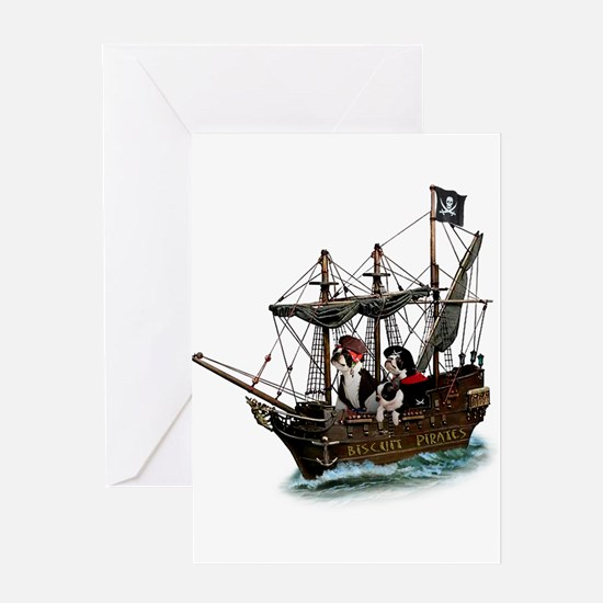 Biscuit Pirates Greeting Card