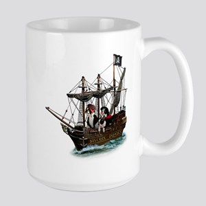 Biscuit Pirates Large Mug