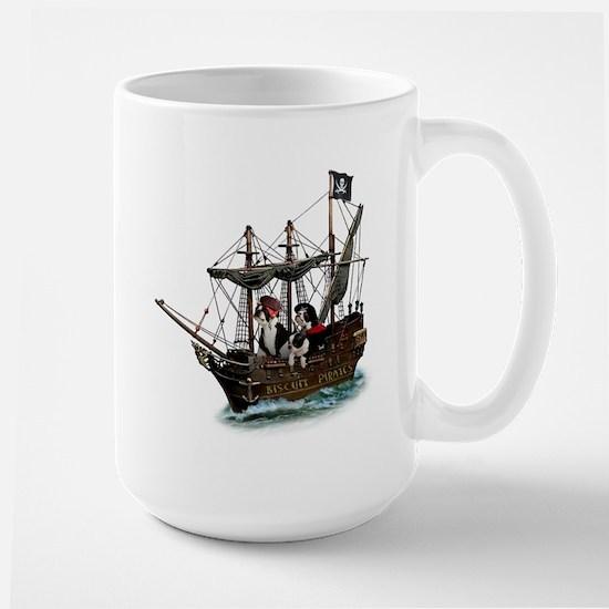 Biscuit Pirates Large Mug