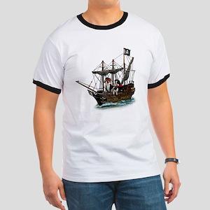 Biscuit Pirates Ringer T