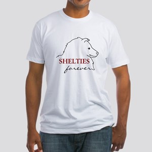 Shelties Forever Fitted T-Shirt